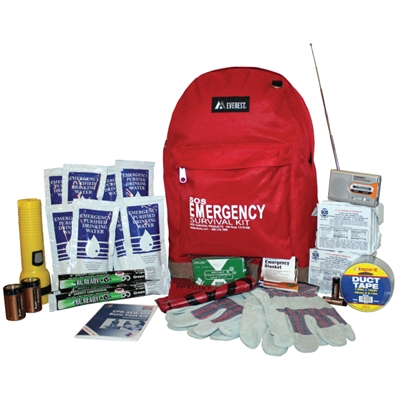 2-Person Deluxe Emergency Survival Kit