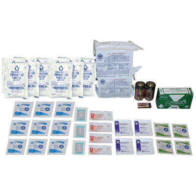 2-Person Emergency Survival Kit Refill