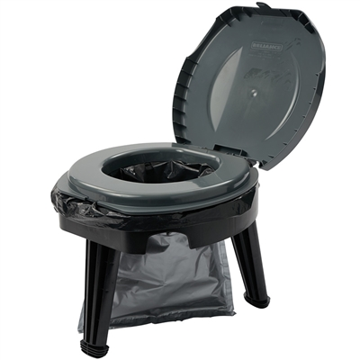 Fold-to-Go Toilet