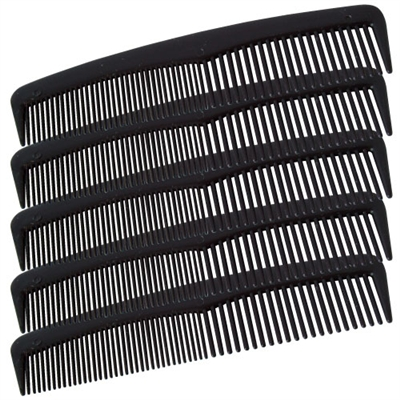 Plastic Combs - 12-Pack