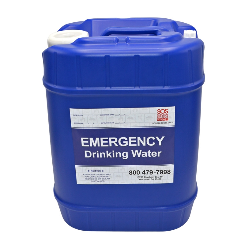 Water Storage Container 5 Gallon