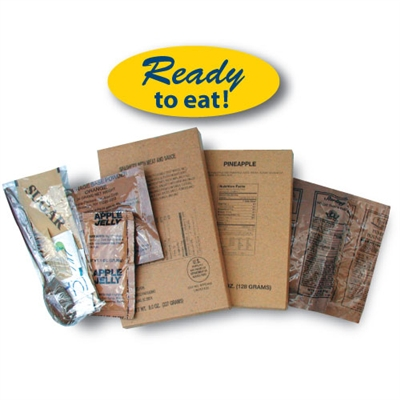 MRE Type Meal Packs - Individual
