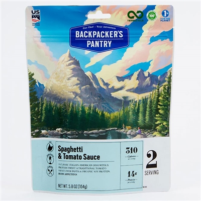 Backpacker's Pantry Spaghetti & Sauce Double