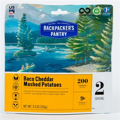 Backpacker's Pantry Baco Cheddar Mashed Potatoes