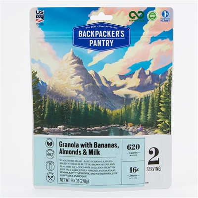 Backpacker's Pantry Granola with Bananas & Milk - Double
