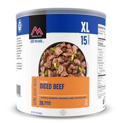 Mountain House #10 Diced Beef