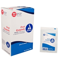 Eye Pads - 50-Pack
