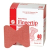 Fingertip Adhesive Bandages - 40-Pack