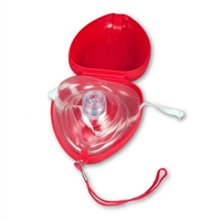 CPR Mask with O2 Inlet
