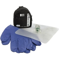 CPR Protector Mask with Gloves and Keychain