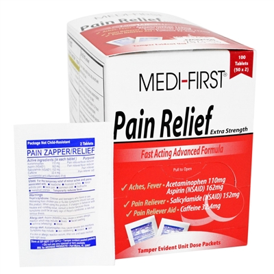 Pain Reliever - 100 Tablets