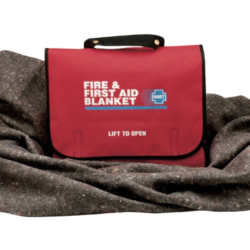 Fire Amp First Aid Blanket Meets Federal Regulations