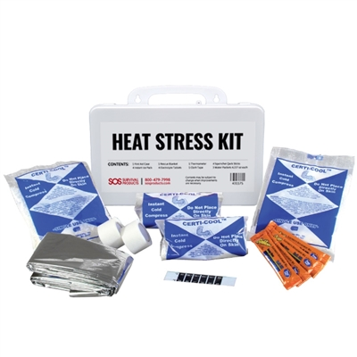 Certi Cool Heat Stress Emergency Response First Aid Kit