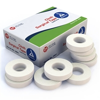 "Cloth Surgical Tape - 1/2"" x 10 Yd. - 24-Pack"