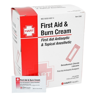 First Aid and Burn Cream - 144-Pack