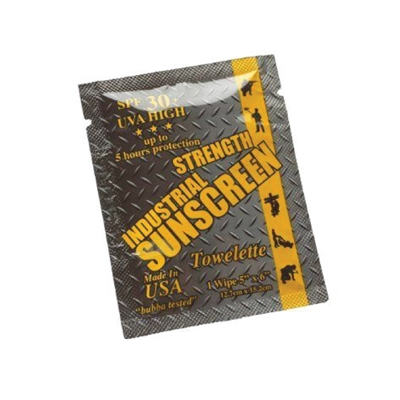 Industrial Strength Sunscreen - 4 ML Foil Pack