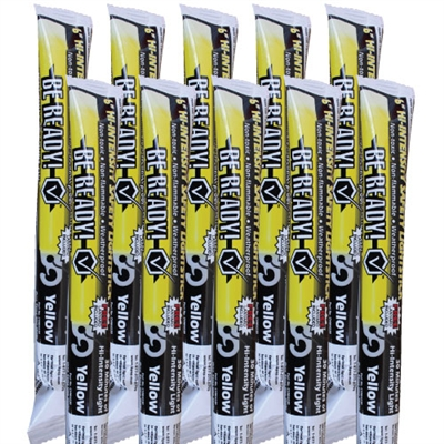 Light Stick - 30 Minute High Intensity Yellow - 10-Pack