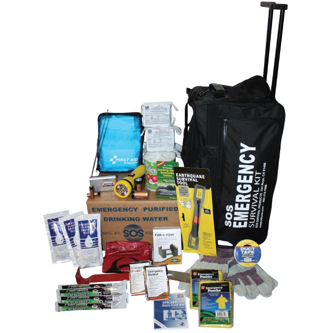 5 Person Deluxe Emergency Kit