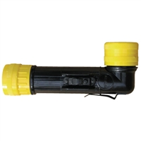 Angle Head Flashlight - Safety Approved