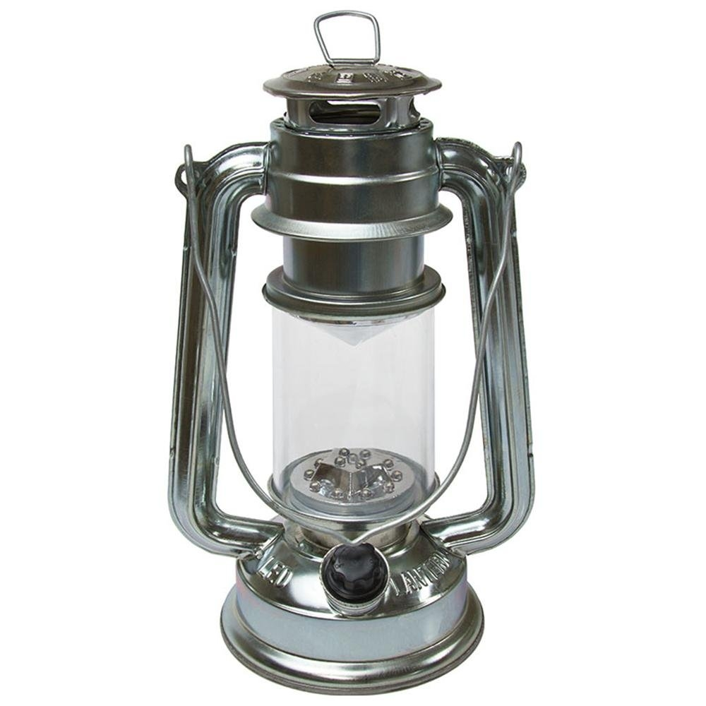 led hurricane lantern uses two d batteries