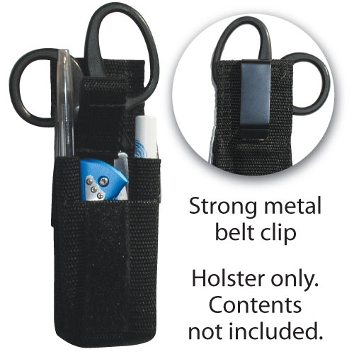 Ems Holster With Metal Clip Holds Shears Pen Knife Amp More