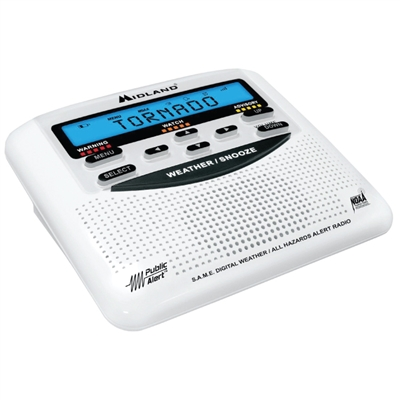 Weather Alert Radio with S.A.M.E.