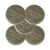 CR2032 Batteries - 5-Pack