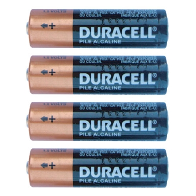 Duracell AA Alkaline Batteries - 4-Pack