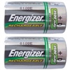 Energizer D Rechargeable Batteries - 2-Pack