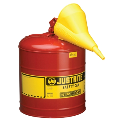 Safety Gas Can with Funnel Type 1 - 5 Gallon