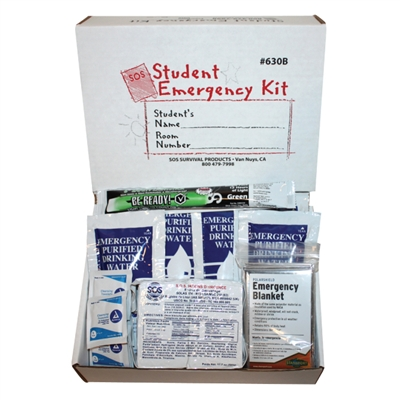 Student Emergency Kit - Boxed