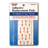 "Thumb Lock Replacement Adhesive Pads - 1"" x 2' - 18-Pack"