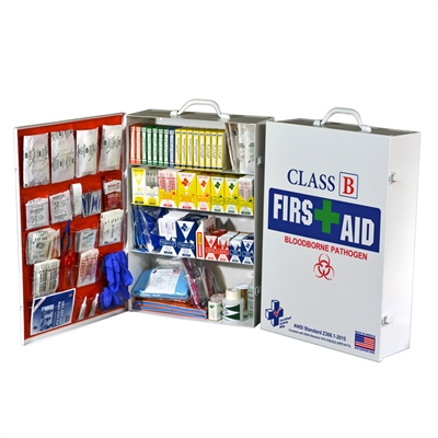 First Aid Kit FAC - 4 - Class B - Metal Cabinet
