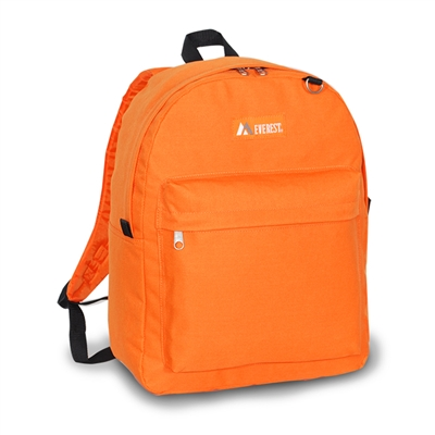Large Capacity Backpack - Orange