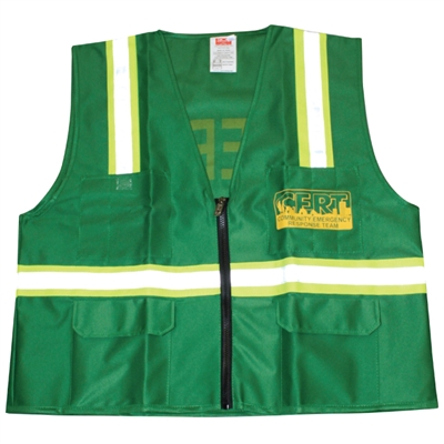 Deluxe CERT Vest - Fitted with Pockets & Reflective Stripes - X-Large